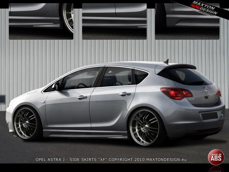 Dokładki Progów Opel Astra J - GRUBYGARAGE - Sklep Tuningowy